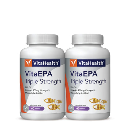 Vitahealth Vita Epa Triple Strength 2 X 60 Softgels