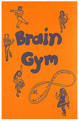Orange Brain Gym Book
