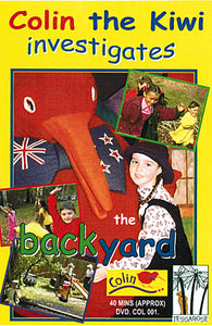 Colin the Kiwi Investigates the Back Yard - DVD
