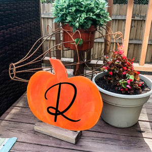 Pumpkin with a Stand
