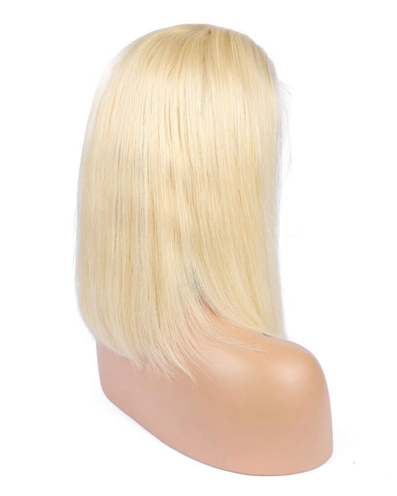 613 Blonde Virgin Human Hair Wig HT025