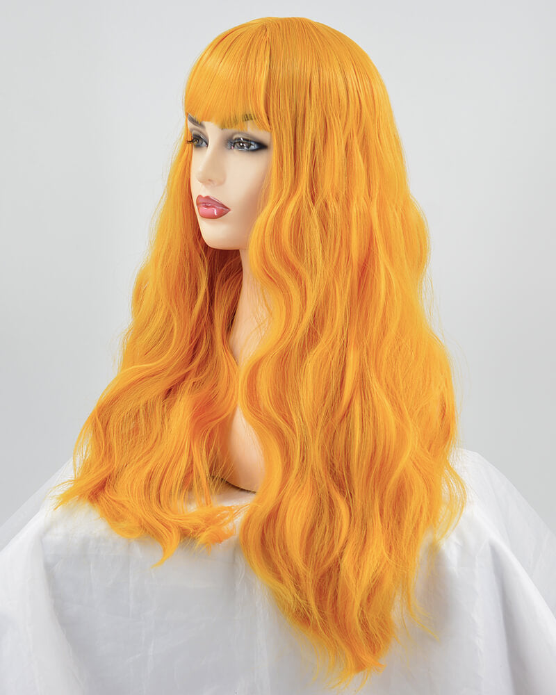 Long Curly Hard Front Wigs HW041