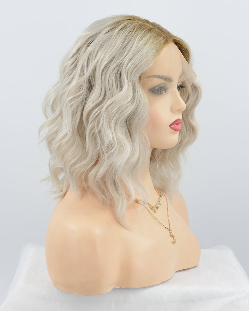 Short Curly Synthetic Lace Front Wig WW263