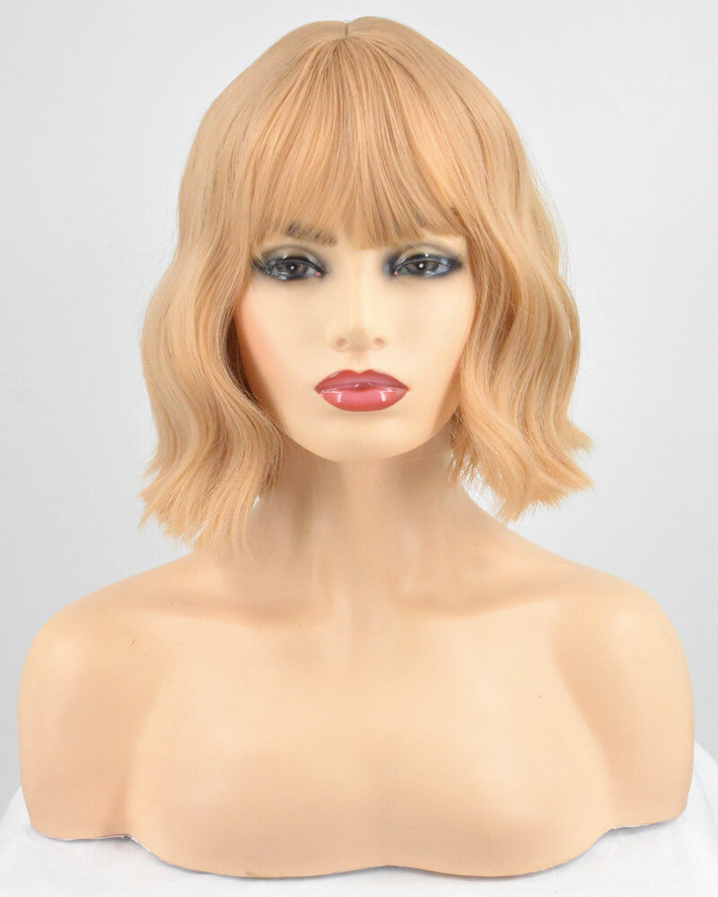 Light Brown Synthetic Lace Front Wig WW125