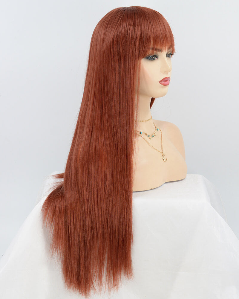 Cooper Red Synthetic Wig HW079