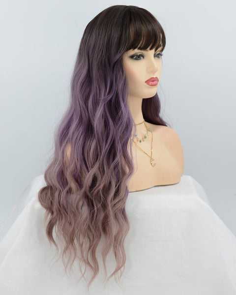Mermaid Synthetic lace Front Wig WT075