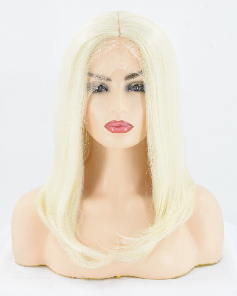 613 Blonde Straight Synthetic Lace Front Wig WW006
