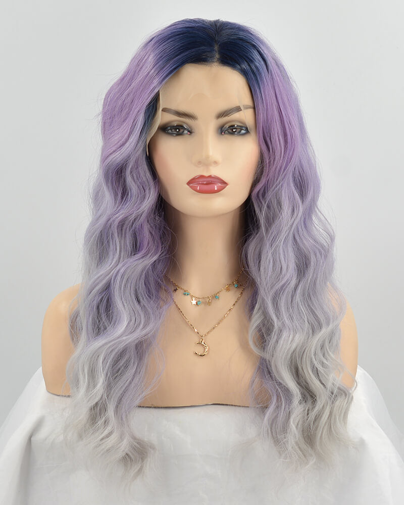Ombre Synthetic Lace Front Wig WW197