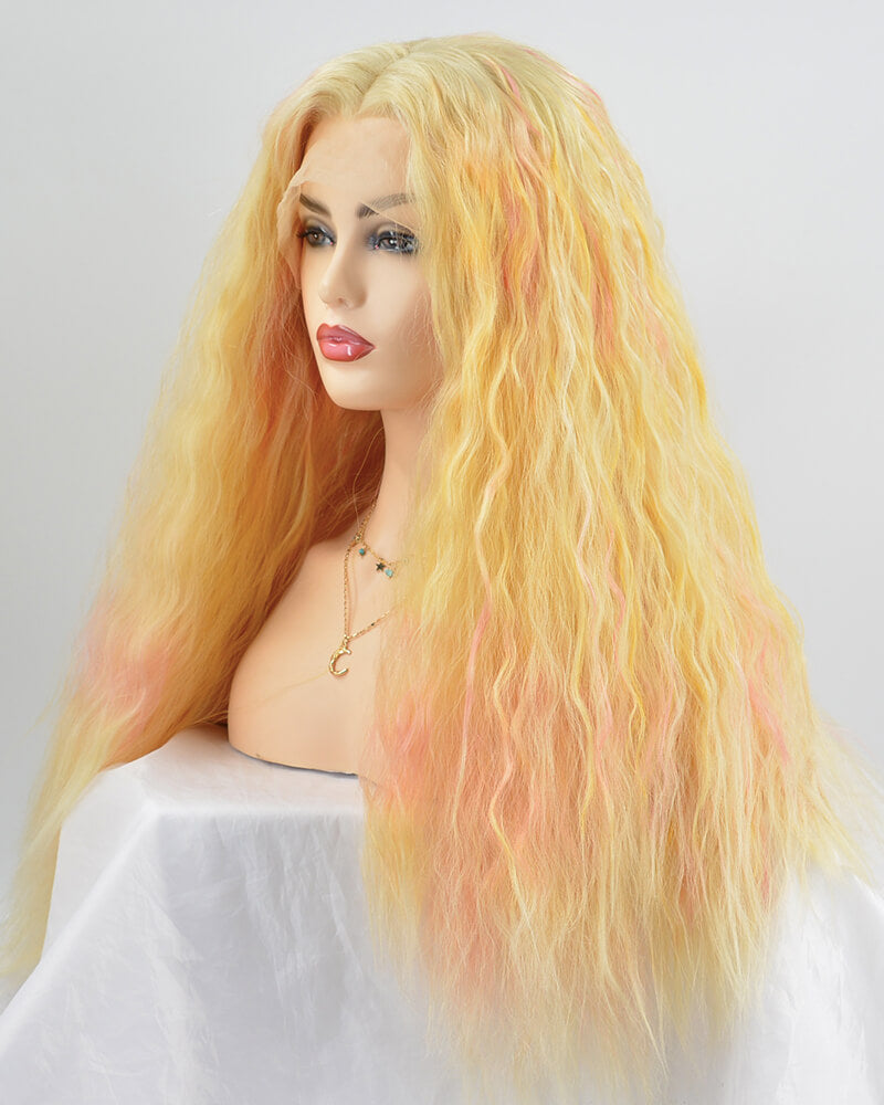 New Curly Synthetic Lace Front Wig WW230