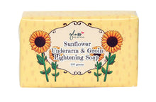 Load image into Gallery viewer, Sunflower Underarm and Groin Lightening Soap