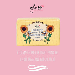Sunflower Underarm and Groin Lightening Soap