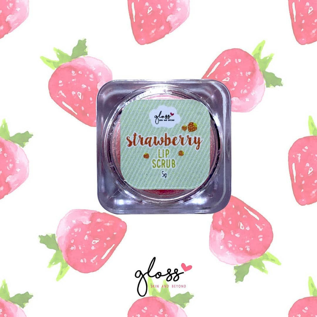 Gloss Strawberry Lip Scrub