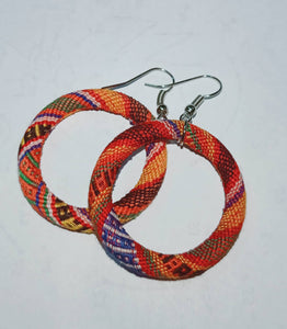 Handcrafted Earrings by the Yakan Tribe