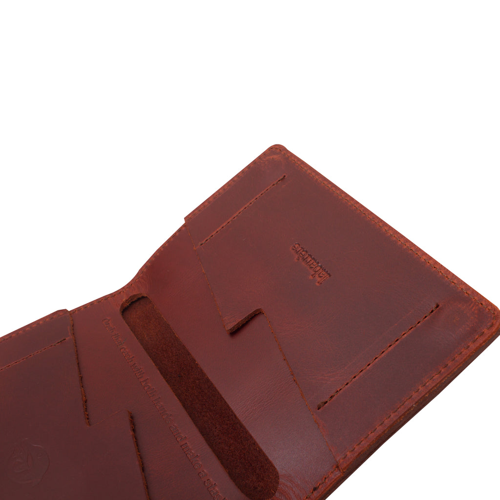 MULA - LEATHER WALLET - TOBACCO