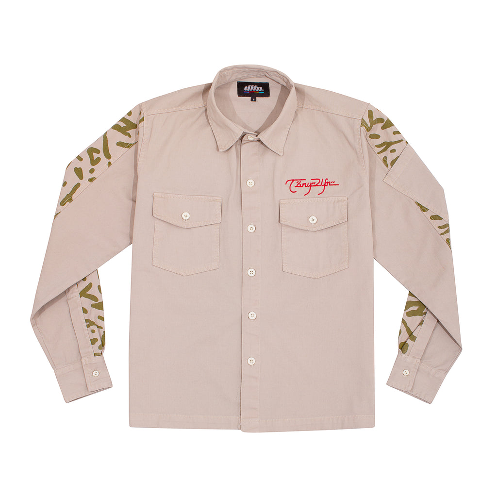 APPLE LUST WORK SHIRT IVORY