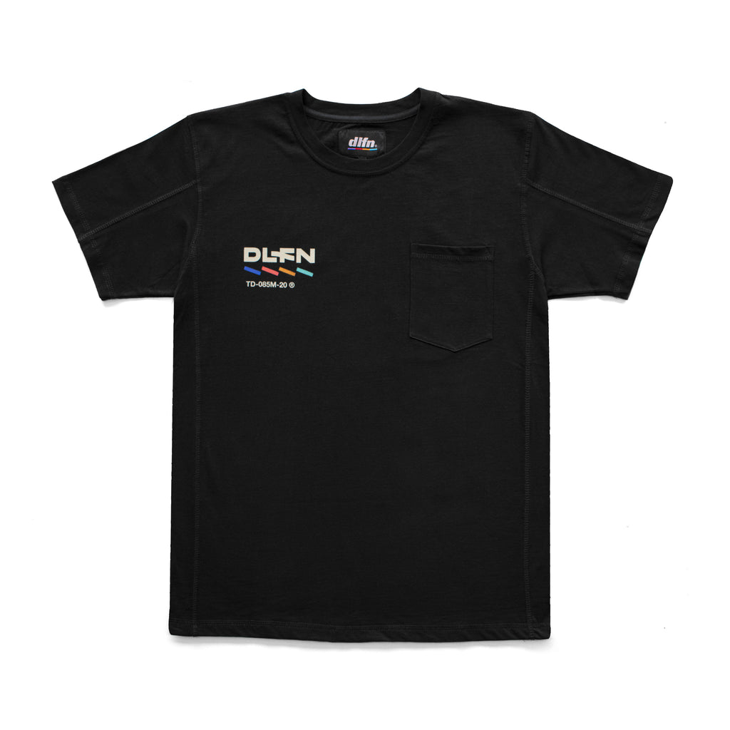POCKET T-SHIRT - ASTRO LOGO / NEGRO