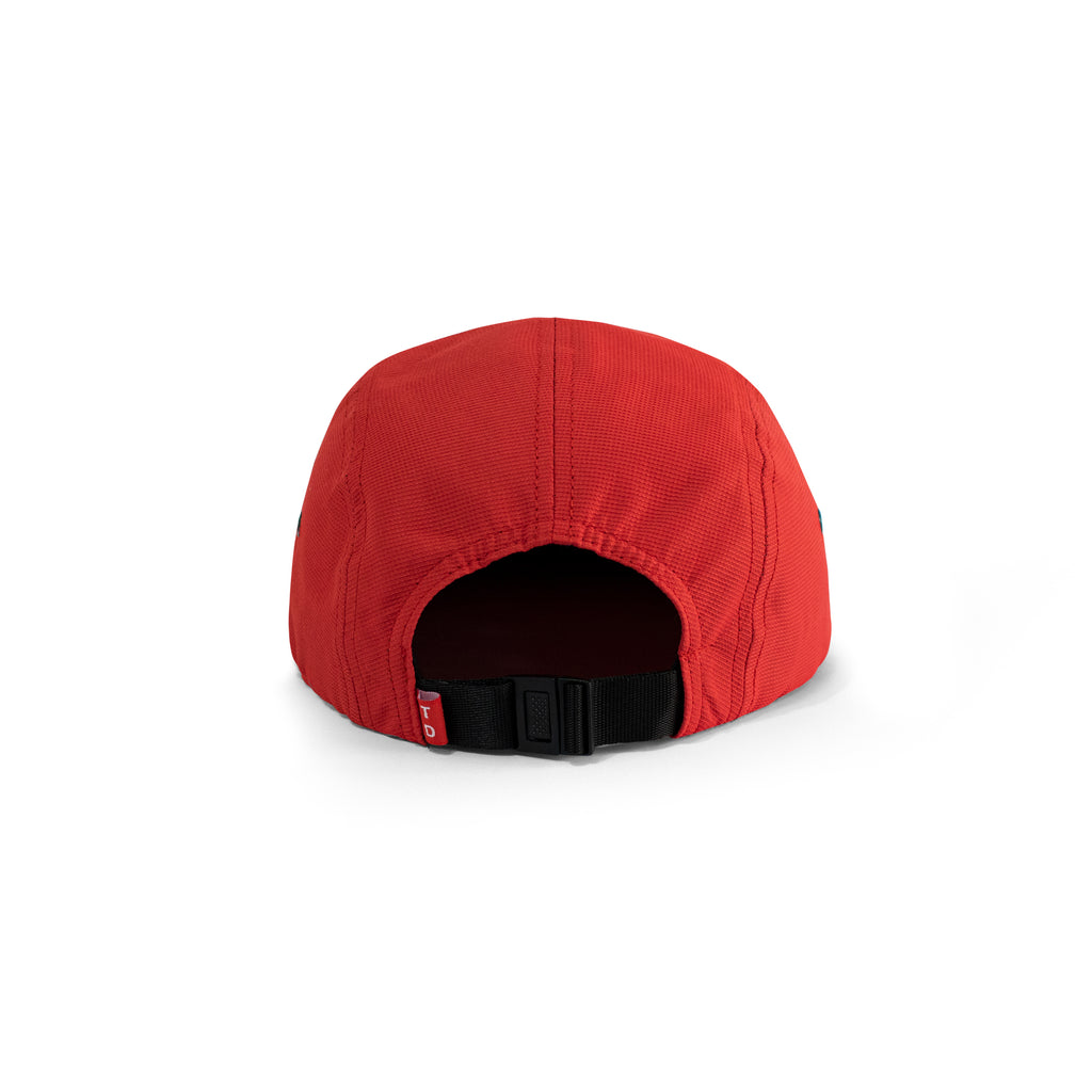 CAMEL 5 PANELS - NYLON CAP RED