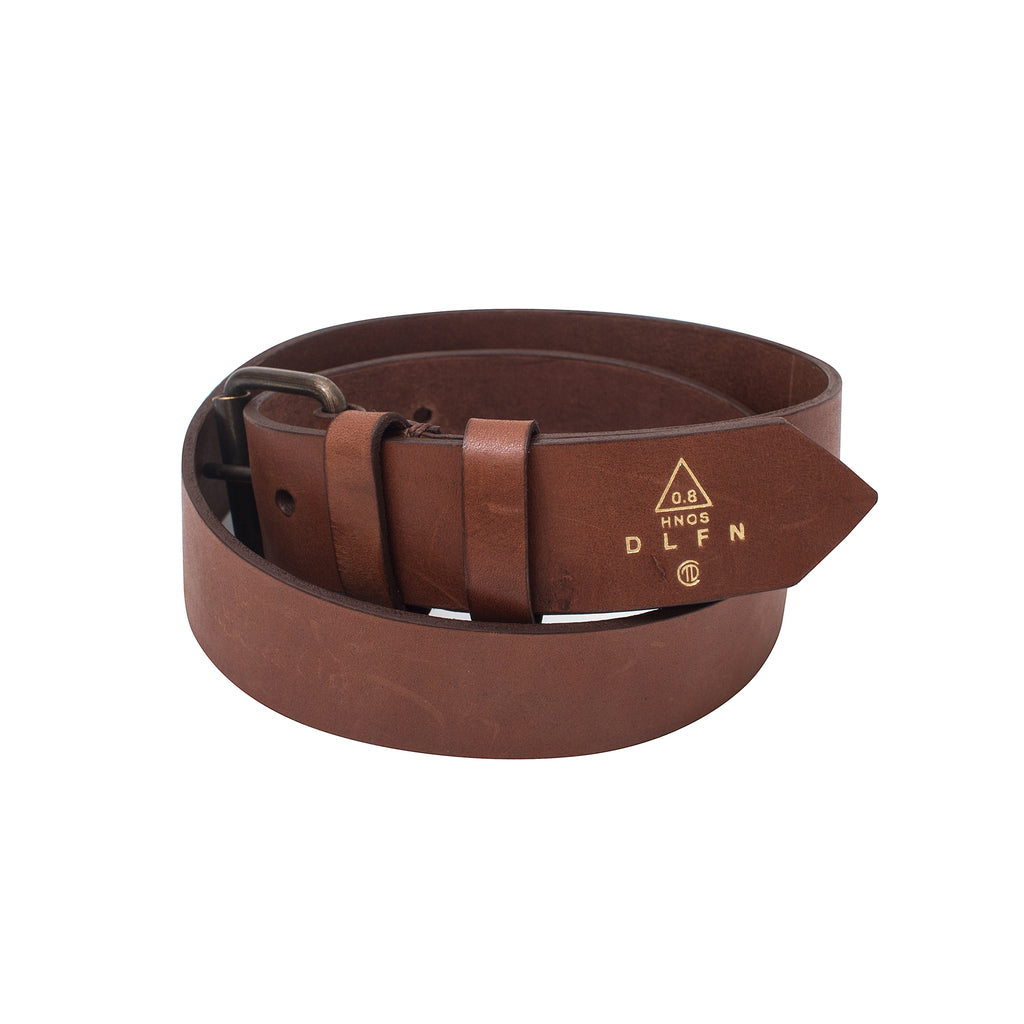 BAILADOR - LEATHER BELT - MAPLE