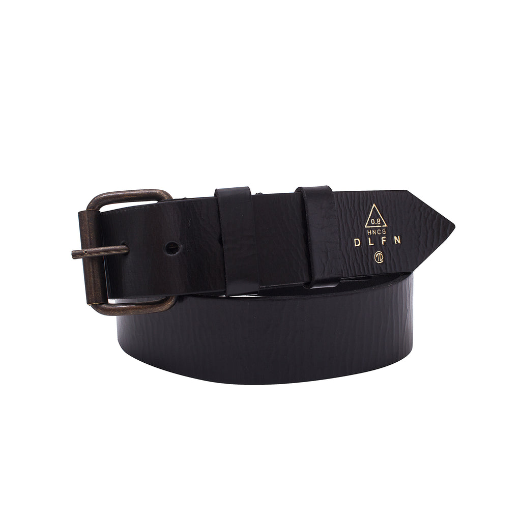 BAILADOR - LEATHER BELT - BLACK