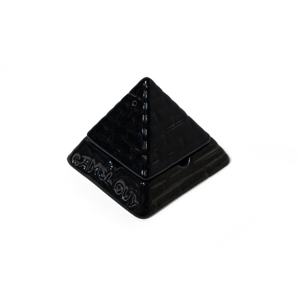 GIZA CERAMIC ASHTRAY - BLACK