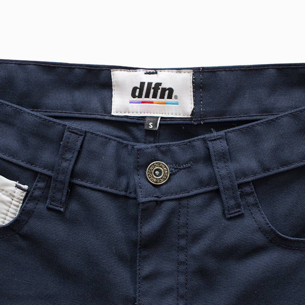 GOLF SHORTS - EMPRESS LOGO / MARINO - GRIS