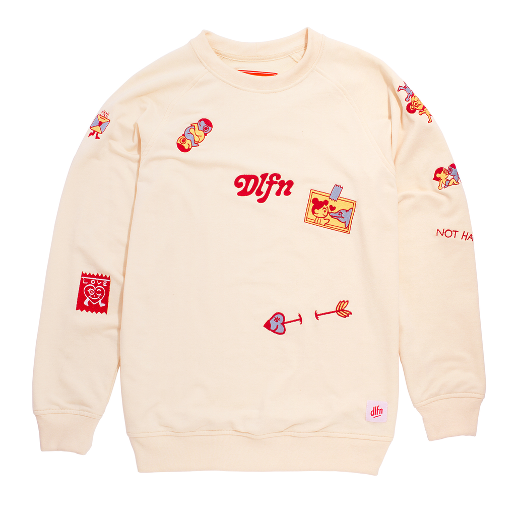 WISHES PATCHES CREWNECK