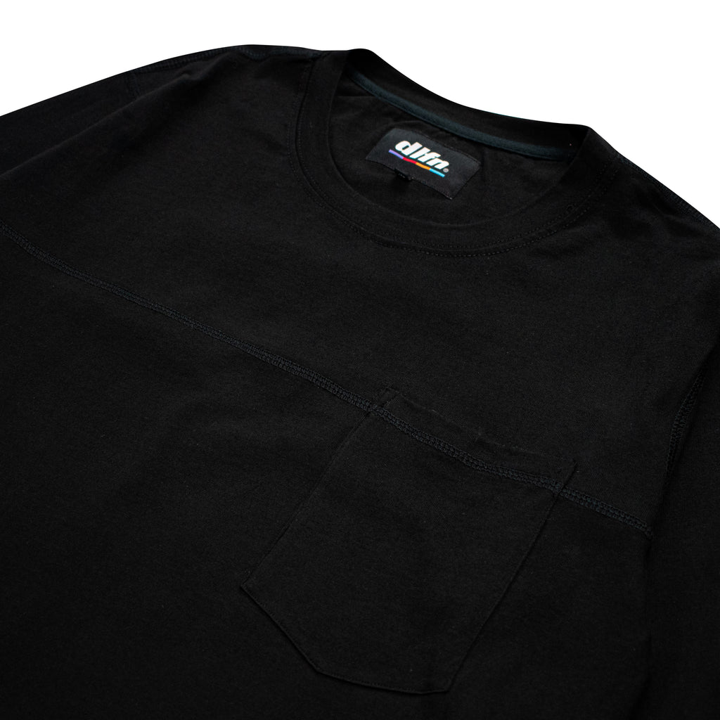 JJCODE LONG SLEEVE - BLACK