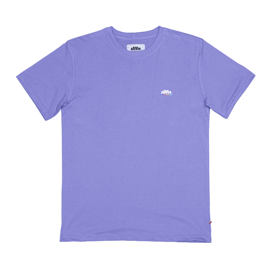 BASIC COLORS T-SHIRT - LILA