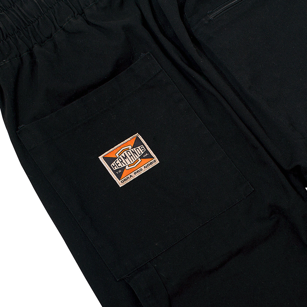 2 HERMANOS BLACK WORK PANTS