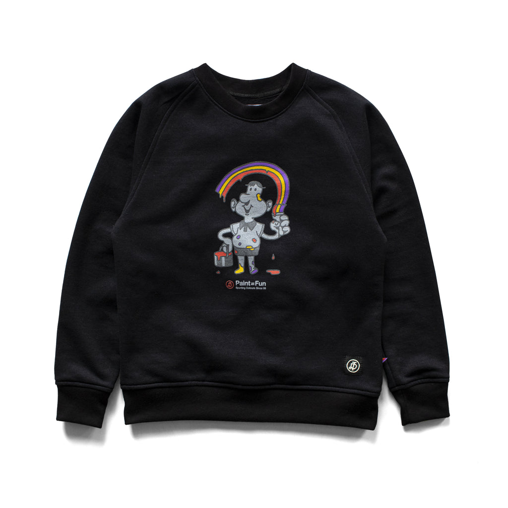 TD KIDS PAINT IS FUN - CREWNECK