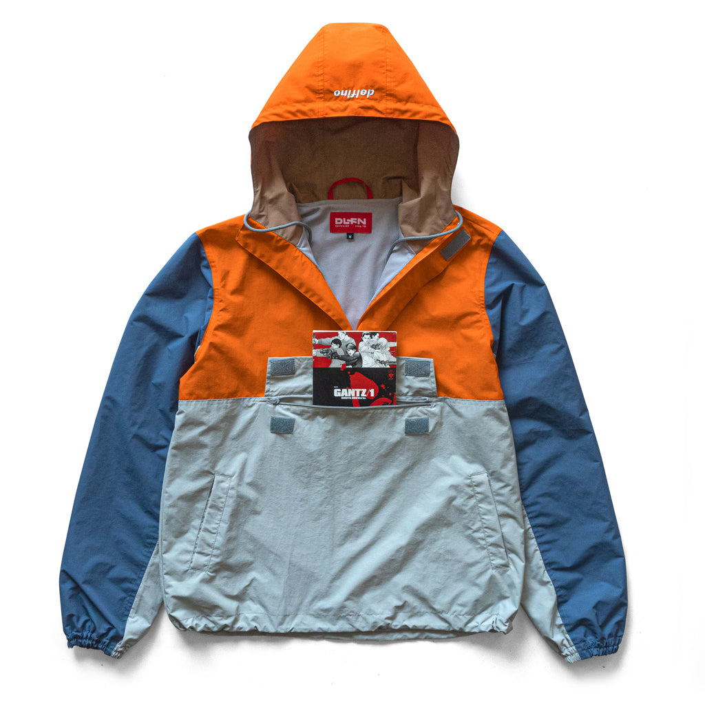 SHAFT ANORAK - ORANGE