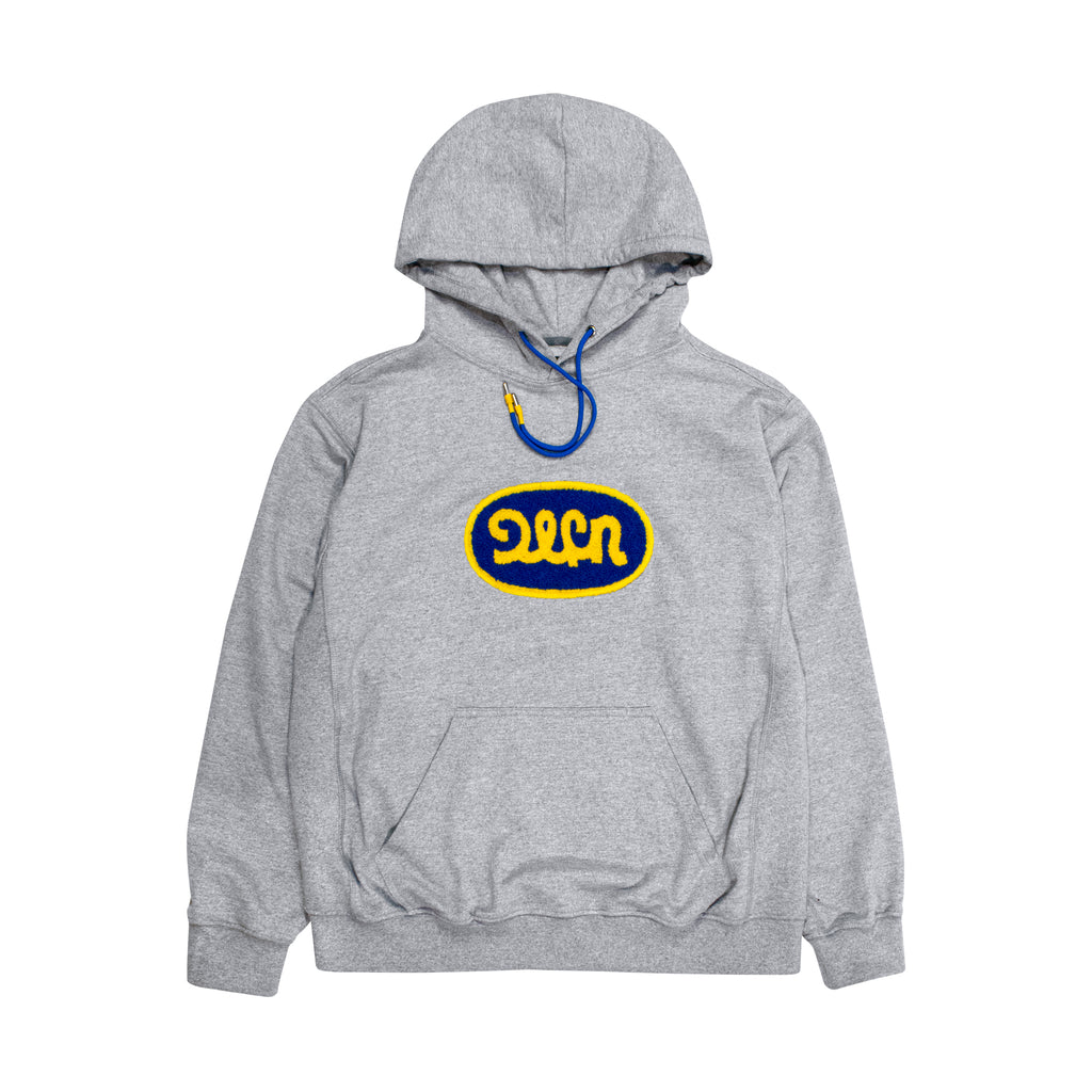 SLEEPYPATCH  HOODIE - LIGHT GRAY