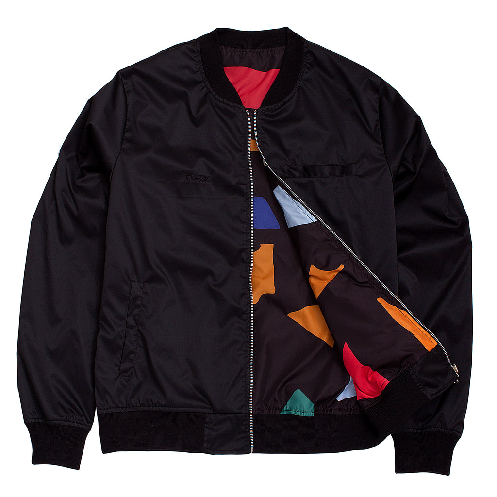 BLACK COLORS REVERSIBLE JACKET