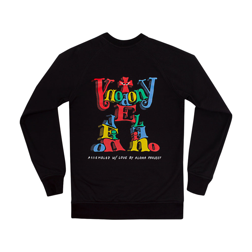 ASSEMBLED CREWNECK BLACK