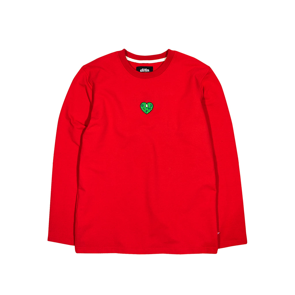 WELL TOASTED LONG SLEEVE / RED