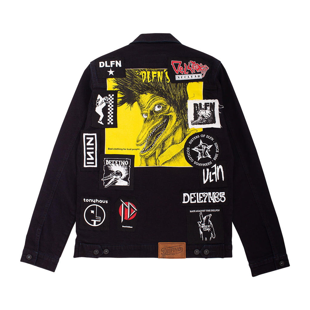 MIXTAPE DENIM JACKET