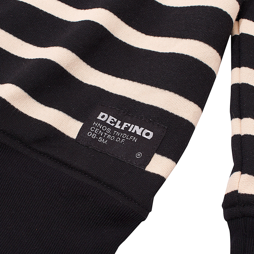 MONO STRIPES CREWNECK