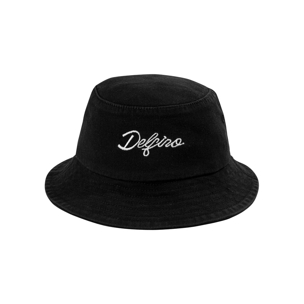 TWIN LOGO BUCKETHAT - BLACK