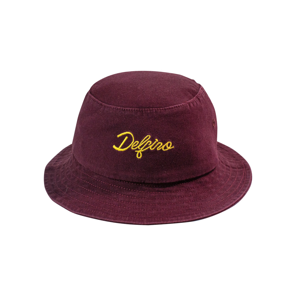 TWIN LOGO BUCKETHAT - WINE