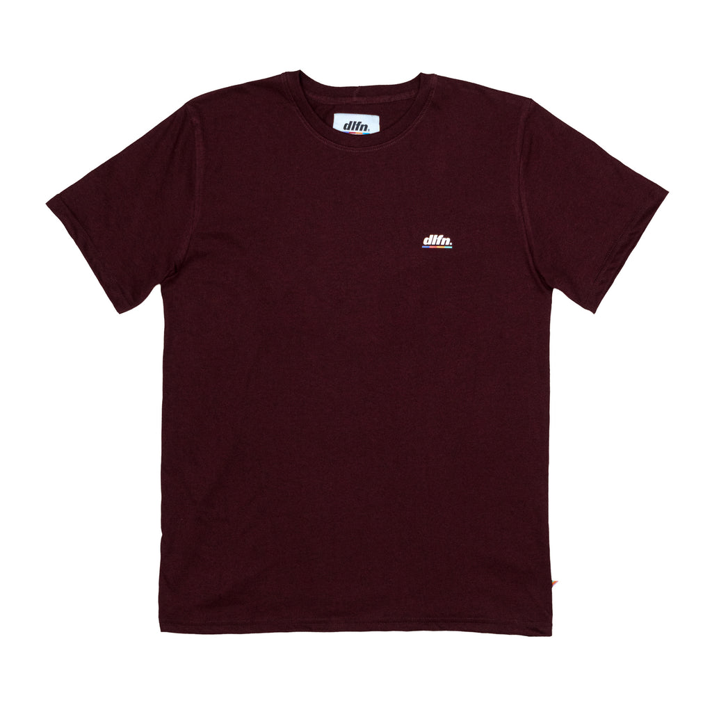 BASIC COLORS T-SHIRT - VINO