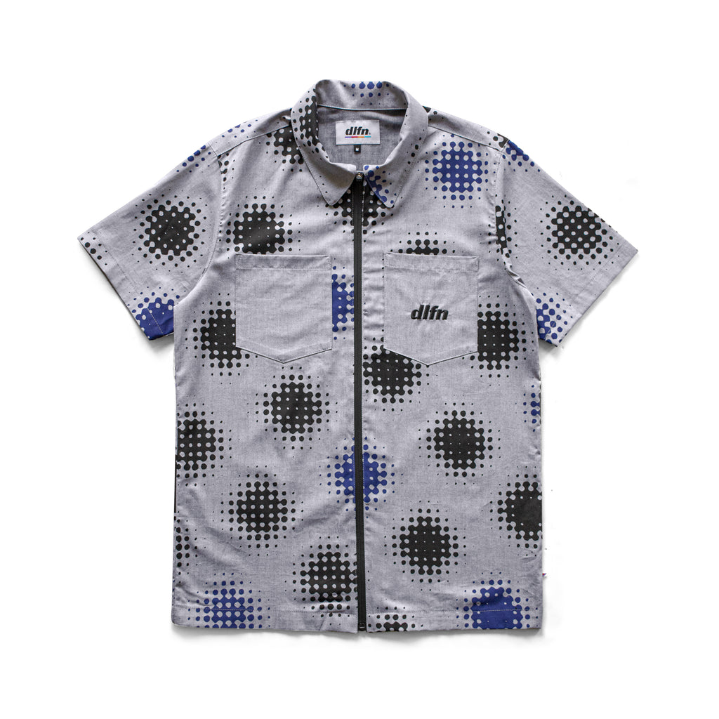 ZIP CAMP SHIRT