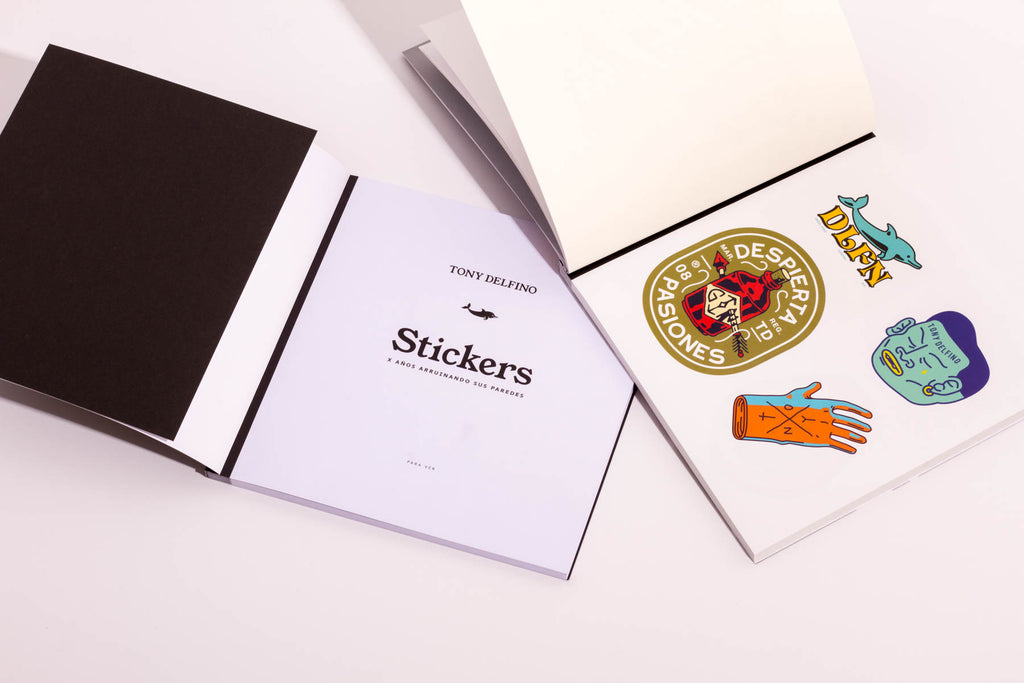STICKERBOOK SET LIBRO ANIVERSARIO