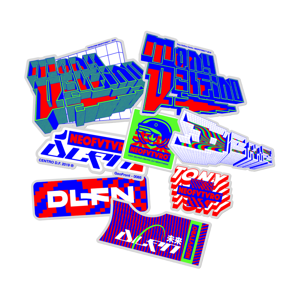 DEMSKY X NEOFVTVRO X TD STICKER SET