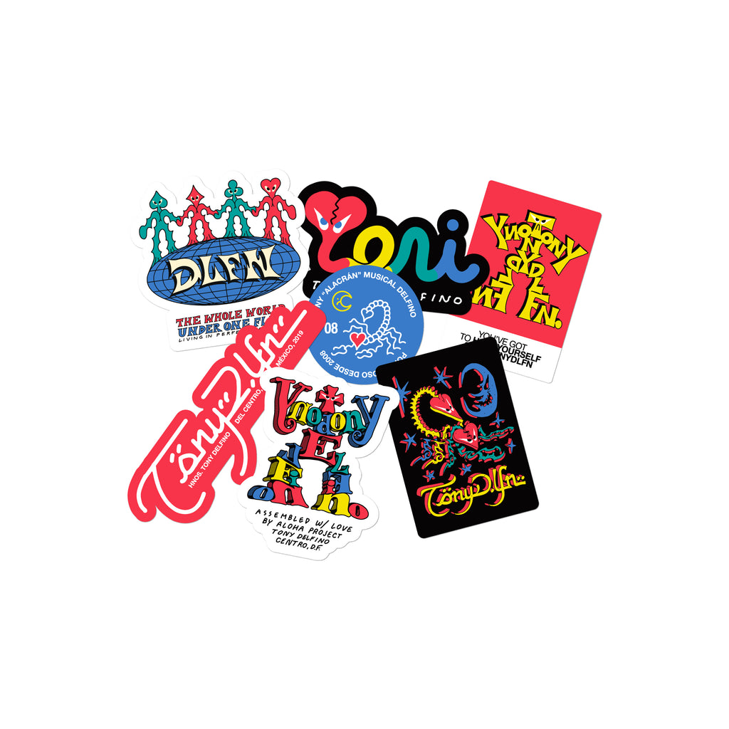 ALOHA PROJECT STICKER PACK