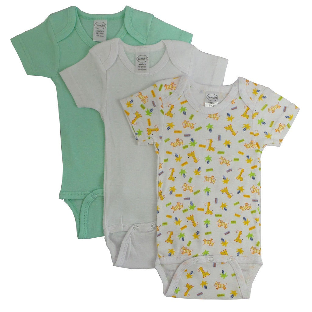 Bambini Boy's Printed Short Sleeve Variety Pack