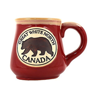 Ceramic Mug 18oz. Great White North Bear
