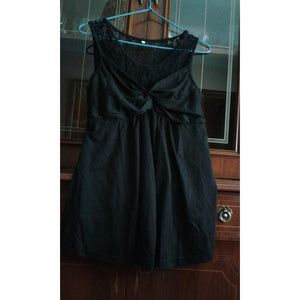 Women's Fashion Sleeveless O-neck Ruffled High Waist Tank To Dress