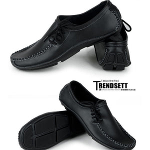 Men's Hand Made Genuine Leather Moccasin Driving Shoes