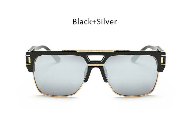 Vintage Men's Luxury Designer Brand Sunglasses