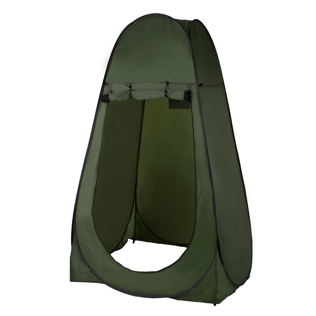 Pop Up Camouflage Camping Shower Bathroom /Changing Room Shelter Tents